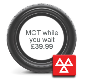 MOT while you wait